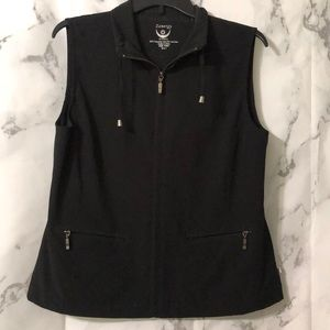Zynergy by Chico's ladies zip up casual vest